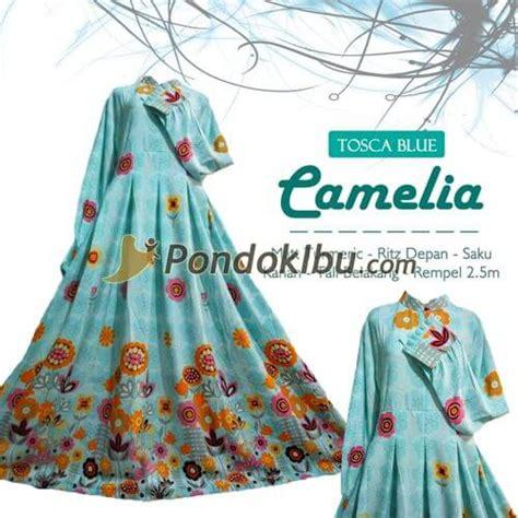 Camelia Syari gamis syar i camelia tosca blue pondok ibu