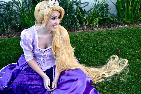 Handmade Rapunzel Dress - echo raphael handmade rapunzel costume disney store