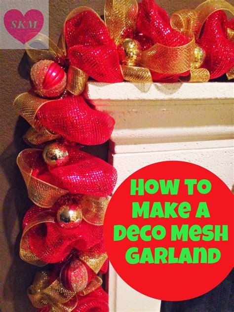 ramble  deco mesh garland