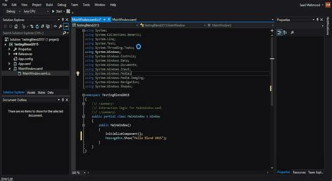 themes for microsoft visual studio what s so awesome in blend for visual studio 2015
