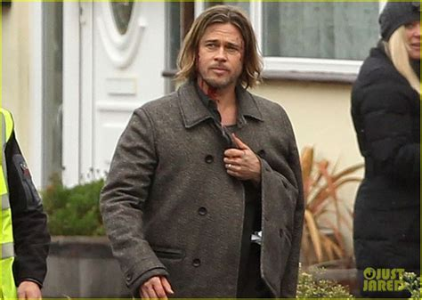 brad pitt world war z hair length 94 best images about world war z movie pictures on