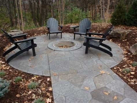 concrete patio firepit sted concrete patio and