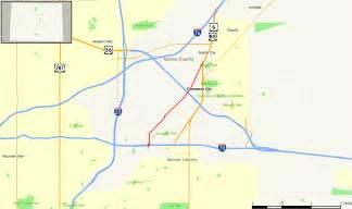 colorado interstate map colorado state highway 265