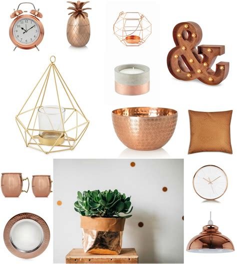 decorative accessories for the home copper home accessories the style guide blog