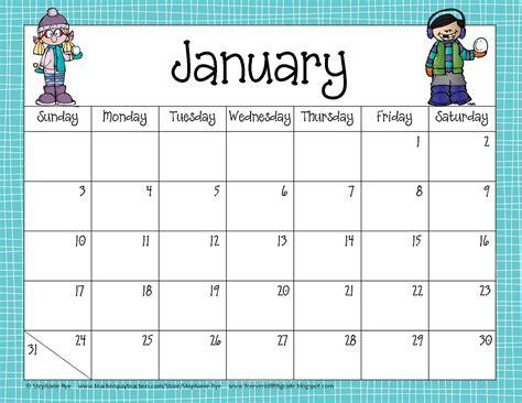 how to make a calendar for school fifth grade freebies school year calendar freebie