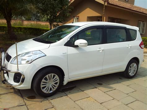 Tank Cover Ertiga Luxury White Murah with my maruti ertiga vxi initial ownership report team bhp