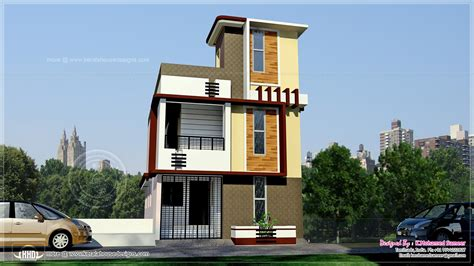 tamilnadu style 3 storey house elevation home kerala plans