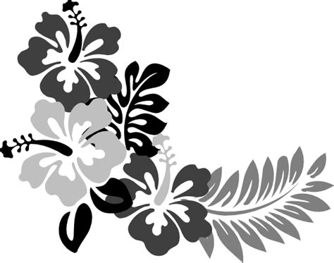 Hibiscus Flower Template Clipart Best Hawaiian Flower Template