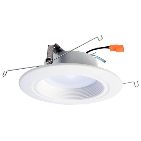 5 led recessed light halo rl 5 in and 6 in white integrated led recessed