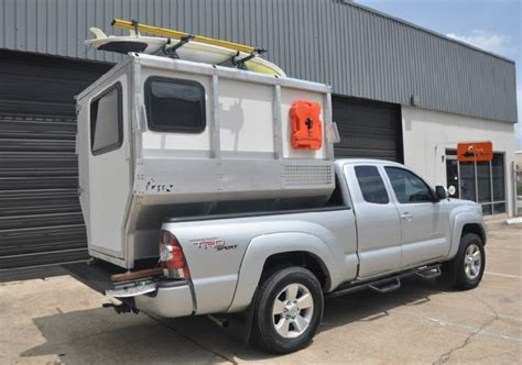 Cool Home Interior Designs firefly compact camper that fits in a pickup truck bed