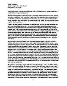 Color Purple Essay by Sisterhood In Color Purple Essays Writefiction581 Web Fc2