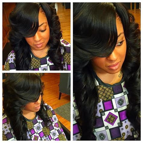 weave no leave out hairstyle brazillian best 25 full weave ideas on pinterest full sew in