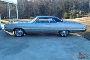 1969 Chrysler Newport 1969 Chrysler Newport Custom Hardtop 2 Door 6 3l Mopar Classic
