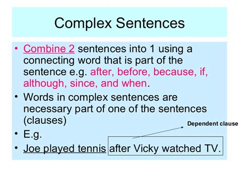 sentence pattern in tamil all worksheets 187 complex sentences worksheets year 5