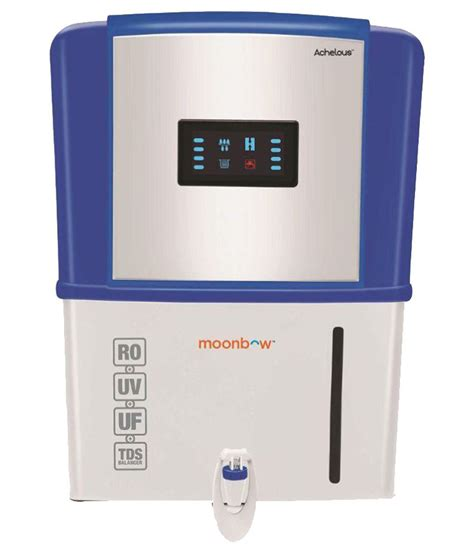 of uv l in water purifier moonbow achelous ro uv uf water purifier by hindware price