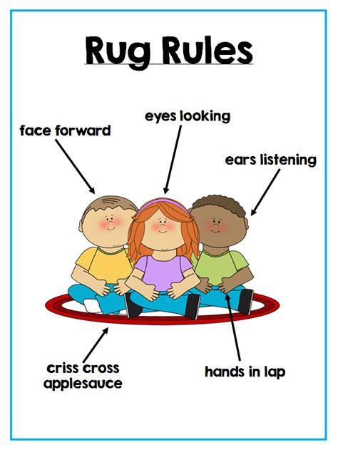 rug procedure colors and kindergarten june 2014