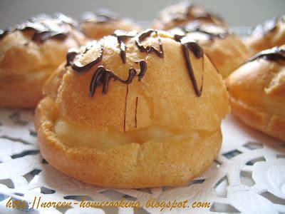 home cooking blog cream puff resepi ii