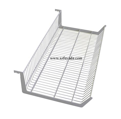 china supermarket shelf wire shelf hanging basket l100