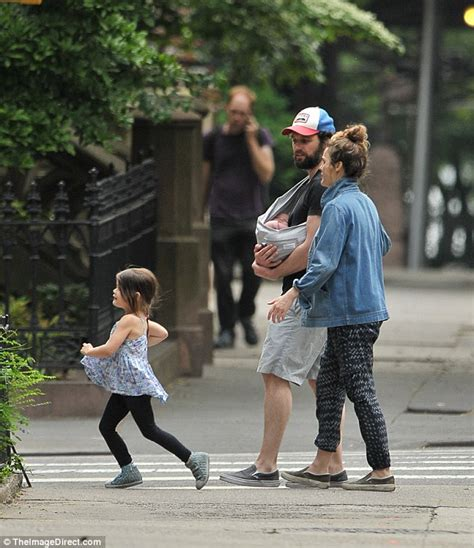 matthew rhys parents keri russell treats river and willa to ice cream daily