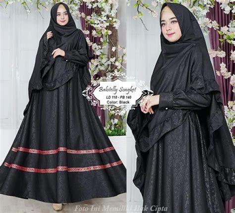 Balotelly Songket baju muslim syari balotelly songket gamis modern butik