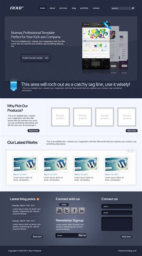 Bar Menu Templates Free Free Bar Website Template