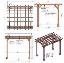 Pergola In Plan by Pergola Plans Pergoladiy