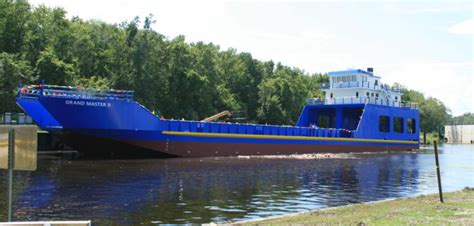 boat building in the bahamas st johns completes new landing craft for bahamas workboat