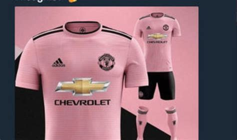 Another Pink Kit by Utd News Will New Shirt Be Pink Is This Look