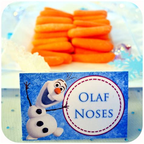 frozen printable olaf noses disney frozen party labels party invitations ideas