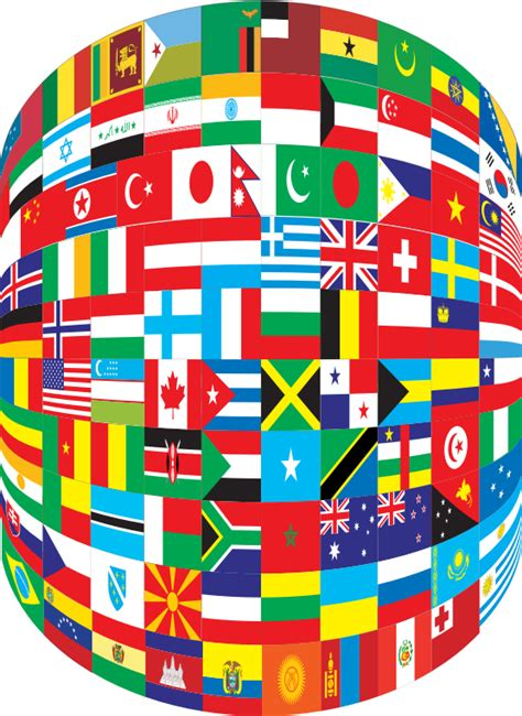 flags of the world download png clipart world flags cylinder
