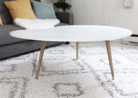 diy mid century modern coffee table 50