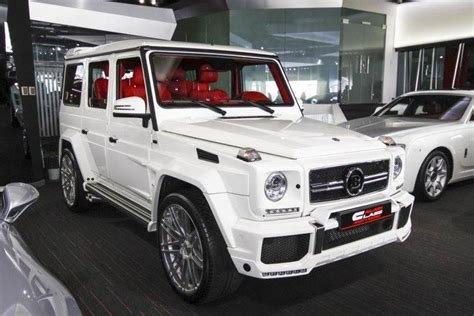 white for sale white brabus g65 spotted for sale at alain class