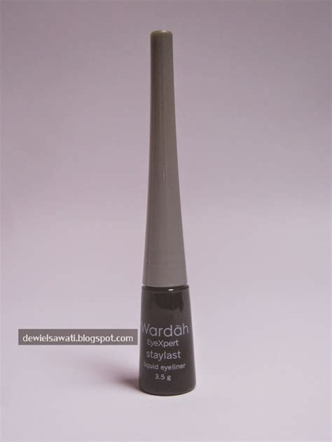 Eyeliner Liquid Wardah Waterproof review wardah eyexpert staylast liquid eyeliner sunday
