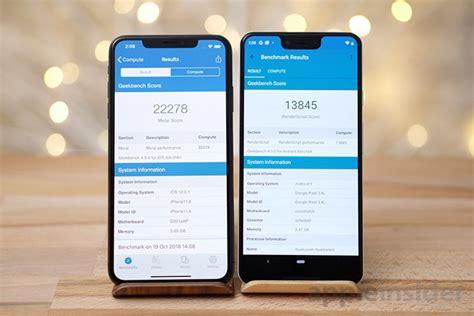 iphone xs max ได คะแนนทดสอบประส ทธ ภาพส งกว า pixel 3 xl โดย appleinsider iphonemod