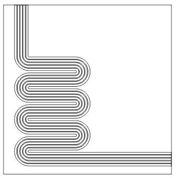 10 Warna Contour contour offset dengan coreldraw