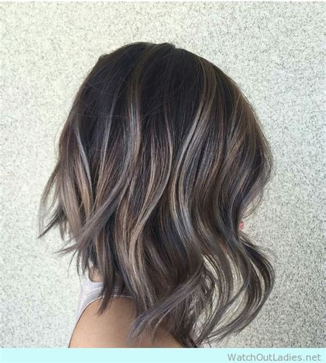 Lob With Soft Curl Hairstyle by 17 Best Images About Highlights Brown Hair On