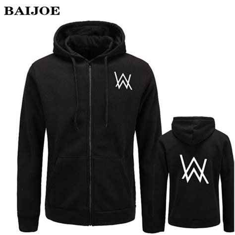 Hoodie Alan Walker Heartmerch23 2017 baijoe mens hoodies sweatshirts dj comedy alan walker hip hop hoodie black jacket