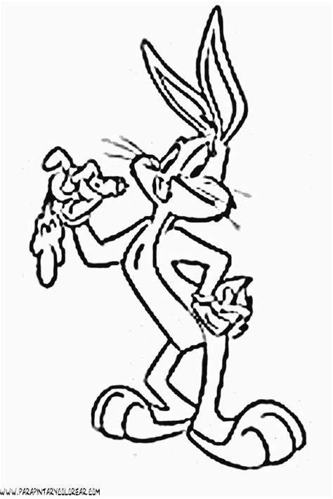 dibujos para colorear de bugs bunny de bebes looney tunes dibujos de bugs bunny vectorizados imagui