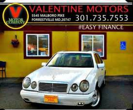 Mercedes For Sale In Md 1999 Mercedes E Class For Sale Carsforsale