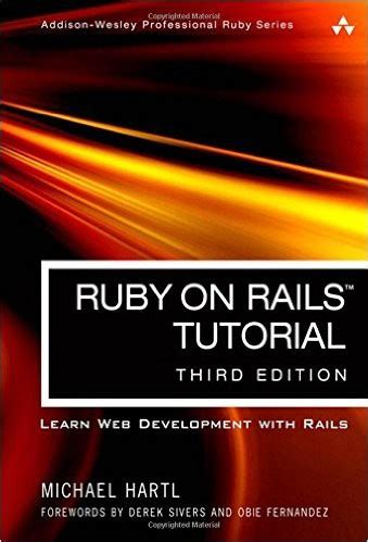 ruby tutorial website 9 best ruby on rails books codeplace blog