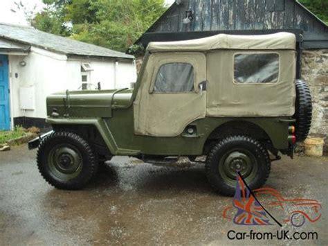 mitsubishi j54 j54 mitsubishi jeep cj3b willys