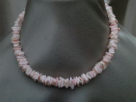 puka bead necklace real puka bead necklace vintage jewelry vintage necklace
