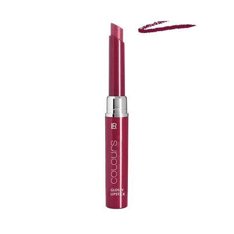 Lipstik Glossy lr colours glossy lipstick two products in one