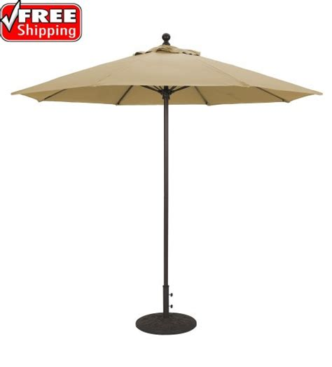 Best Selection Large Commercial Umbrellas   Galtech 10 FT