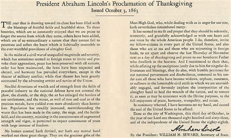 abraham lincoln on thanksgiving abraham lincoln s 1863 thanksgiving proclamation jeff