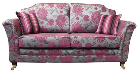 floral settee buy fabric 3 seat settee worldwide delivery designersofas4u
