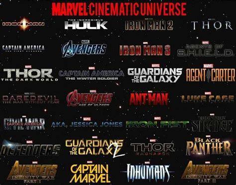 marvel film order list marvel cinematic universe touranment comics amino