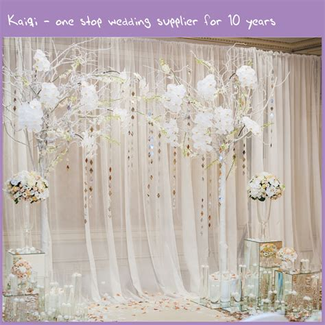 backdrop drapes for weddings ivory wedding voile backdrop wall covering draping kaiqi