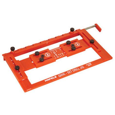 hafele set drilling jig for precise drilling and