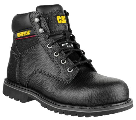 Caterpillar Low Safety Boots Black caterpillar black electrical safety boots uk 9 43